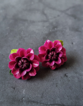 """Podziņauskari """"Dālijas"""" tumši rozā"""